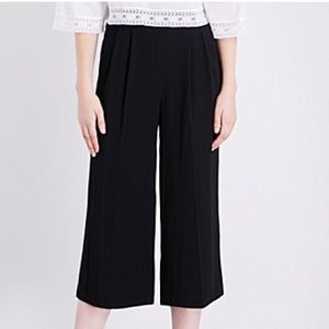 Topshop Ultra High wasted Wide Leg Pants Size 12